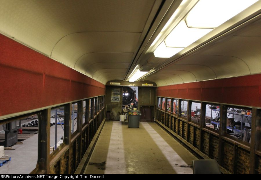 THSX 501 interior